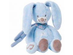 Кролик Бибу, мягкая игрушка с музыкой, 21 см, Nattou