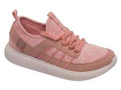 Кроссовки для девочек, розовые (текстиль), Lapsi (34)