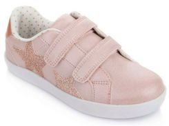 Кроссовки на липучках, розовые, Lapsi (Arial) (36)
