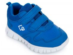 Кроссовки на тракторной подошве, голубые, Lapsi (Arial) (34)