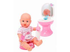 Кукла - пупс NBB Ванная комната, 30 см, New Born Baby