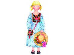Кукла Василиса, Игровой набор для девочек из картона (одевай и играй), Умная бумага