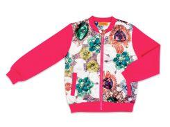 Куртка Jewelry, Danaya, розовая (110 р.)