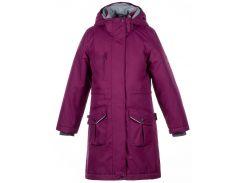 Куртка для девочек Mooni, Huppa, бордовый (134)
