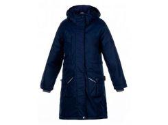 Куртка для девочек Mooni, Huppa, темно-синий, (128)