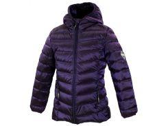 Куртка для девочек Stenna, Huppa, темно-лиловый (128)