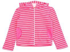 Куртка для девочки, в полосочку, Danaya, розовая (134 р.)