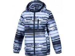 Куртка для мальчиков Janek, Huppa, серый с принтом (140 р.)