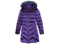 Куртка зимняя для девочек Patrice, Huppa, темно-лиловый (134)