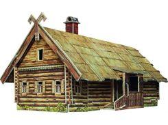 Кутузовская изба в Филях, Сборная модель из картона, Умная бумага