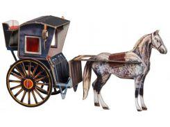Кэб Хенсома, Сборная модель из картона, Умная бумага