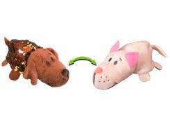 Лабрадор и Кот (12 см), мягкая игрушка с пайетками, ZooPrяtki