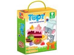 Магнитная кулинарная игра Торт (рус), Vladi Toys