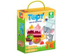 Магнитная кулинарная игра Торт (укр), Vladi Toys