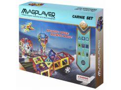 Магнитный конструктор (72 детали), MagPlayer