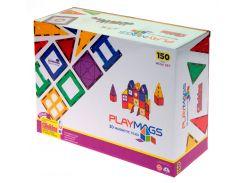 Магнитный конструктор 150 деталей, Playmags