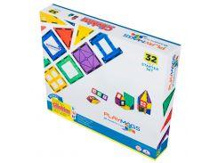 Магнитный конструктор 32 детали, Playmags