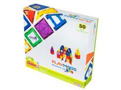 Магнитный конструктор 50 деталей, Playmags