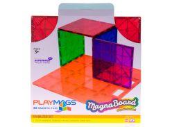 Магнитный конструктор платформа для строительства, Playmags