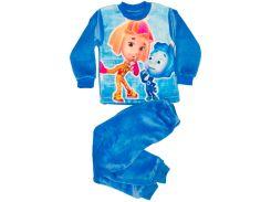 Махровая пижама для мальчика, Нолик и Симка, Colibric (30)
