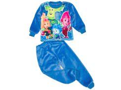 Махровая пижама для мальчика, Фиксики, Colibric (34)