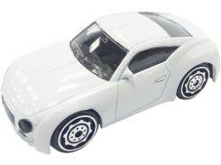 Машинка Teamsterz White Bullet белая 7,5 см (1416210)