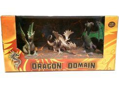 Мир драконов Серия D (3 фигурки), HGL