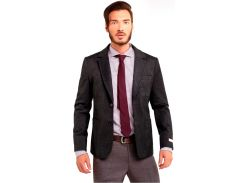 Мужской пиджак, серый, размер L, Dilovyi