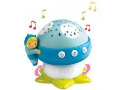 Музыкальный проектор Cotoons Грибочек (голубой цвет), Smoby Toys