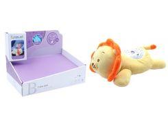 Мягкая музыкальная игрушка, Львёнок с проектором, Funmuch