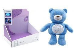 Мягкая музыкальная игрушка, Мишка с проектором, Funmuch