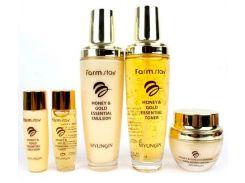Набор Farm stay для ухода за кожей с экстрактом меда и золота 3 средства (NF-00009560)