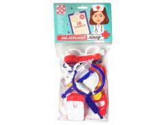 Набор врача (16 предметов), Numo toys