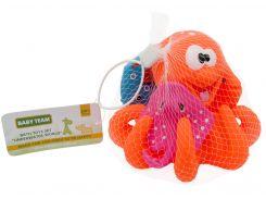 Набор игрушек для ванной Подводный мир (оранжевый цвет), Baby team
