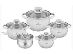 Набор посуды Maxmark 10 предметов (MK-BL2510)