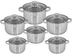 Набор посуды Maxmark 12 предметов (MK-3512B)