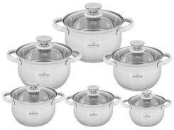 Набор посуды Maxmark 12 предметов (MK-BL2512B)