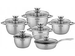 Набор посуды Maxmark 12 предметов (MK-VS8512A)