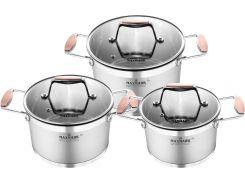 Набор посуды Maxmark Cooper 6 предметов (MK-LX3206A)