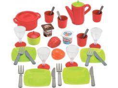 Набор посуды и продуктов Chef в боксе, Ecoiffier