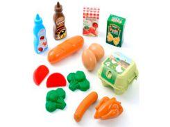 Набор продуктов в сетке, Ecoiffier