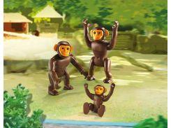Набор фигурок Семья шимпанзе, Playmobil