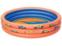 Надувной бассейн Hot Wheels, 3 кольца (122 × 25 см), Bestway