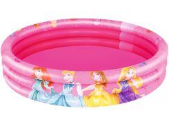 Надувной бассейн Принцессы Disney, 3 круга (122×25), Bestway