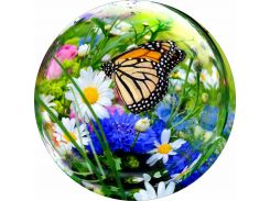 Наклейка на запаску Бабочка Цветы (750 × 750 × 0.15 мм), Grandmaster3d