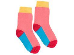 Носки с цветным следом, Duna, коралловый, 20-22 (31-34)