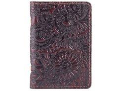 Обложка-органайзер ID паспорта карт HiArt AD-03 Crystal Brown Silk Mehendi Art (AD-03-C19-1314-T005)