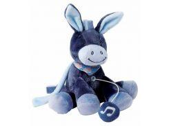 Ослик Алекс, мягкая игрушка с музыкой, 21 см, Nattou