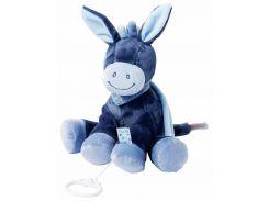 Ослик Алекс, мягкая игрушка с музыкой, 28 см, Nattou