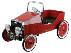 Педальная машинка Ретро автомобиль, красный, Goki